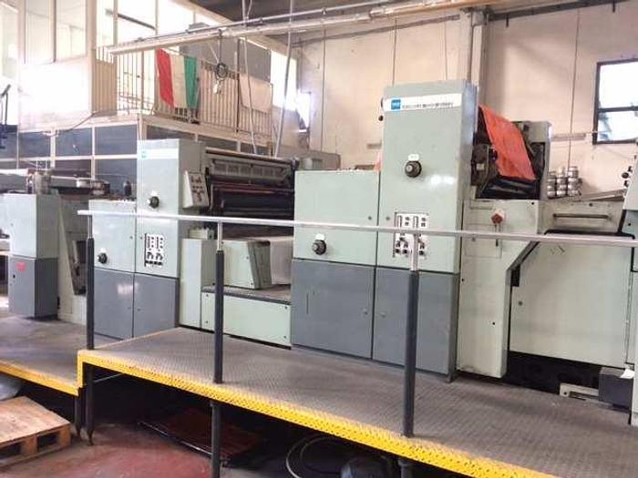 AURELIA 700 – 4 colors OFFSET printing machine