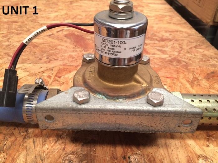 Used Capstone Turbine Dump Valve for C30 Microturbine (P/N 507201-100)