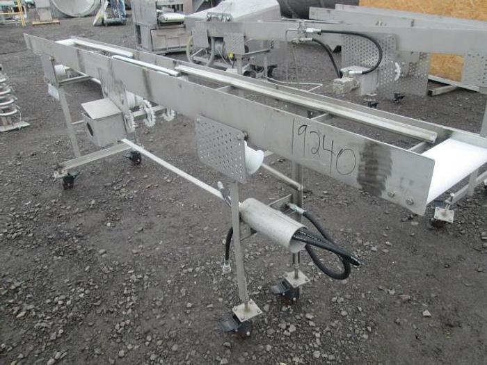 "Used Custom Conveyor; 14""W x150""L"