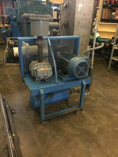 Used 25Hp Gardner Denver Sutorbilt Vacuum Blower Package Legend 4MP 208-230/460V