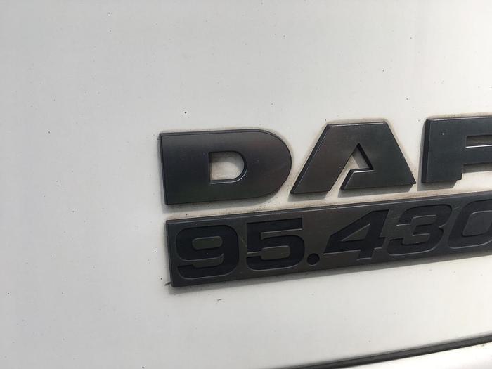 2003 DAF 95 XF 430 EURO 4 MANUAL