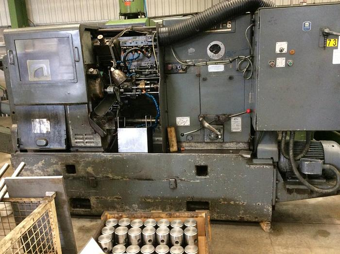 "Used Wickman 1"" x 6 Multi Spindle Lathe"