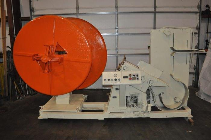 "Used 2500 LB x 6"" x .090"" MINSTER/PERFECTO UNCOILER STRAIGHTENER COMBO"
