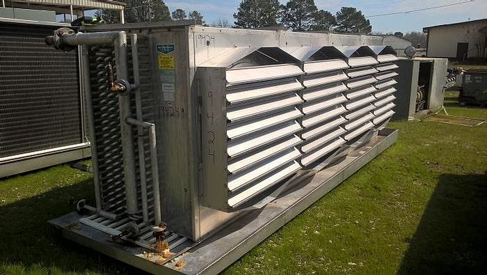 Used McCormack Ammonia Evaporator; Md#M4PCLO78I103/16GBAIG-Q-U-LEFT