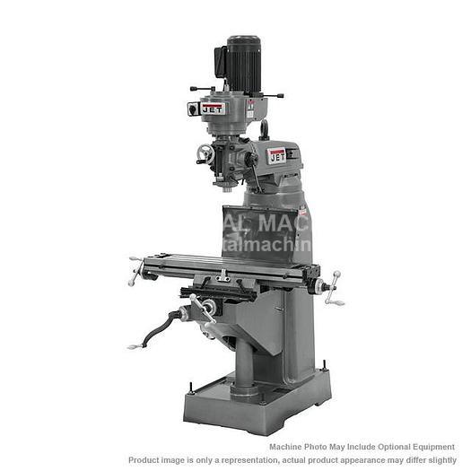 JET JVM-836-1 Step Pulley Milling Machine 115V 1Ph 690036