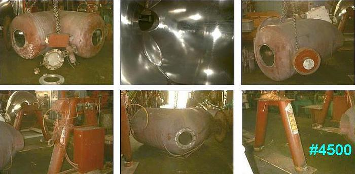 Used 60 CU. FT. P-K TWIN SHELL VACUUM DRYERS – S/S – (2)