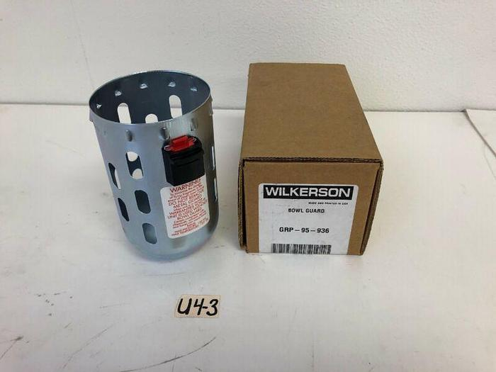 Wilkerson Bowl Guard GRP-95-936 *New~Fast Shipping*