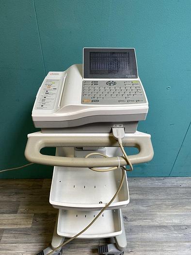 Gebraucht Cardiac Science Burdick 8500 EKG System auf Trolley