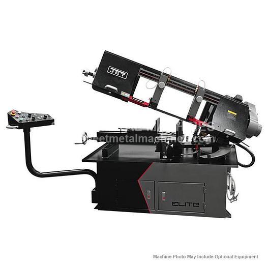 JET ELITE EHB-1018VM 10 x 18 Semi-Auto Variable Speed Dual Mitering Saw 891070