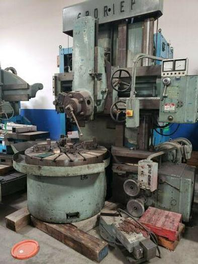 Used Froriep Vertical Turret Lathe with side head
