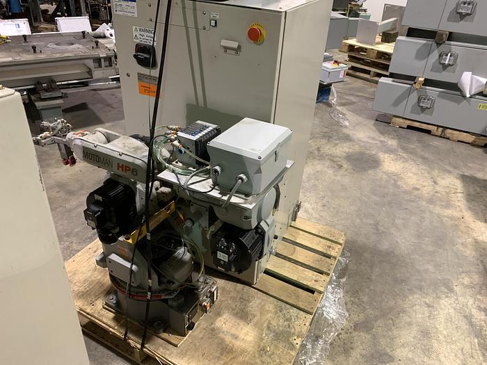 Used MOTOMAN HP6 ROBOT 6KG X 1378 MM H/REACH MOTOMAN NX100 CONTROLLER