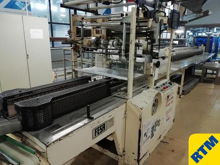 Used Biscuit Roll Wrapping Machine