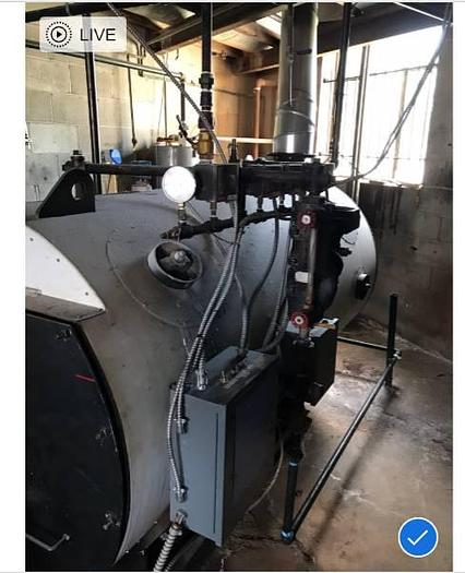 Latner Boiler  5. Mo 30 HP 150 PSI steam boiler