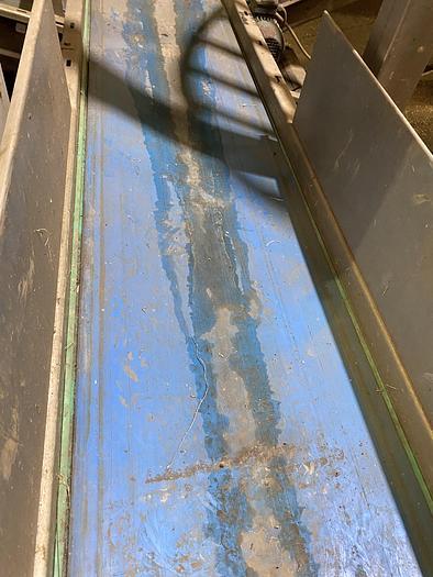 Used Steel Conveyor belt 6m L 0.55m W
