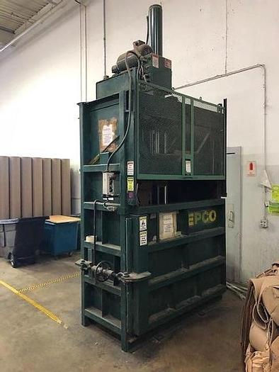 Used EPCO VERTICAL BALER 10 HP