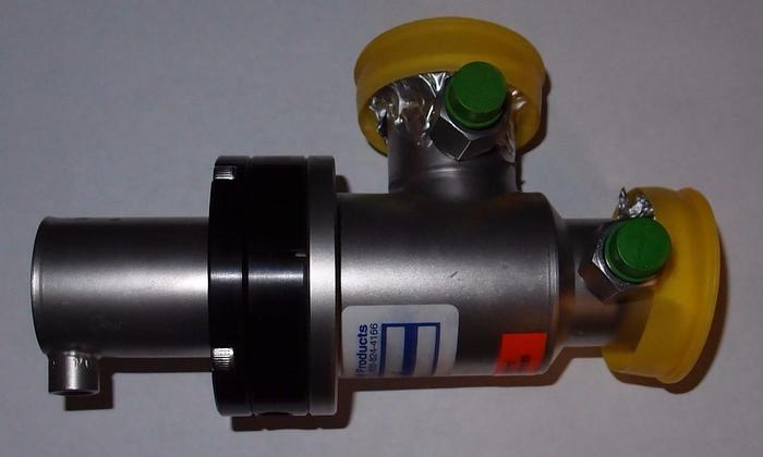 Used Nor-Cal High Vacuum Pneumatic Right Angle Elastomer Sealed Valve (3251)