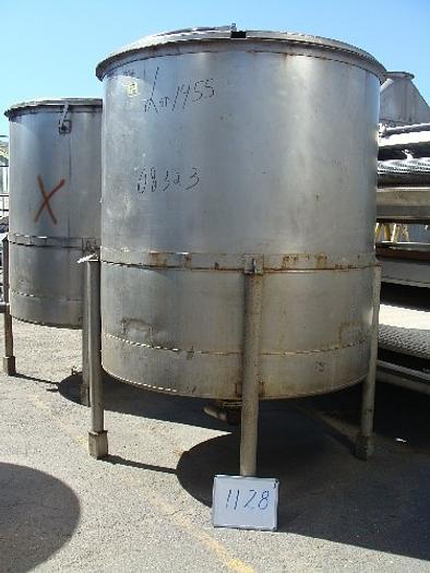 Krenz 1200 Gal. Vertical S/S Tank