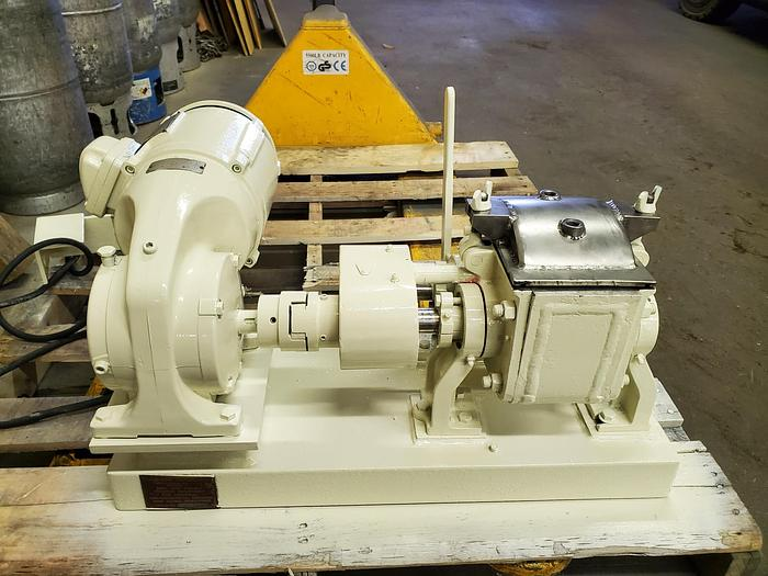 Used 0.25 GALLON (1 QUART) READCO SIGMA BLADE MIXER – S/S – JACKETED – VACUUM (#9624)
