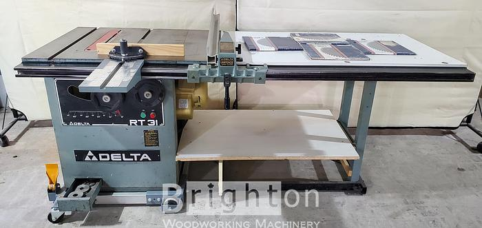 1986 Delta RT31 Table Saw