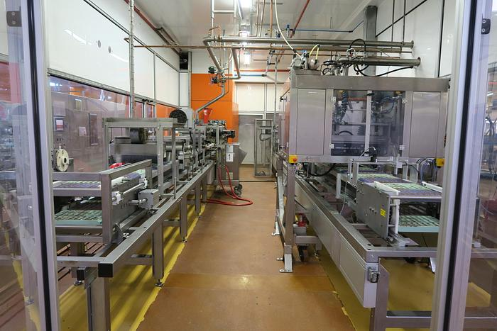 Frozen Cone Chocolate Moulding Line