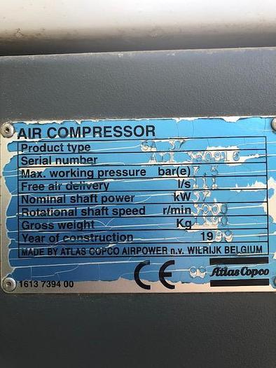1999 ATLAS COPCO GA-37