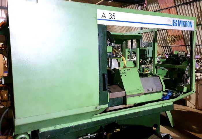 MIKRON A35 CNC GEAR HOBBER