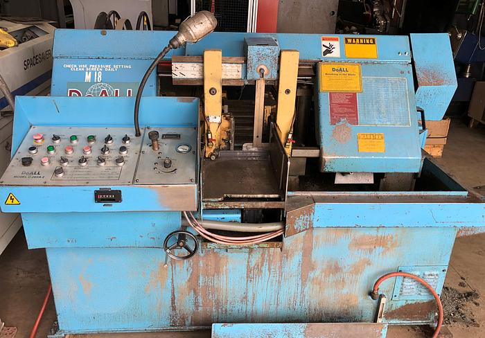 Used Do All Automatic Bandsaw C260A-2