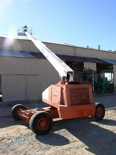 Used 80 foot SNORKEL Model TB-A80RD Aerial Boom Lift; Work Platform