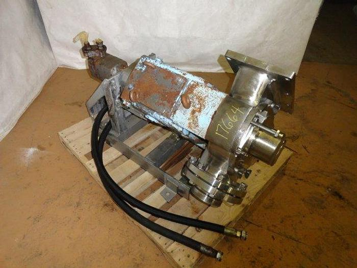 """Used Waukesha/Cherry Burrell Positive Displacement Pump, Size 324, 6"""" in and out"""