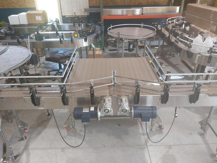 Custom Conveyor Concepts Dual Lane Accumulation table