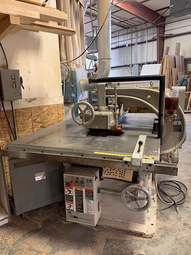 Diehl  750 R Striaght Line Rip Saw