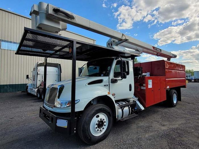 Used 2020 International MV607 Terex XT PRO 60/70 Forestry Bucket Truck