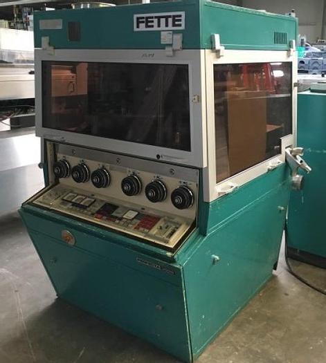 Used F 12198 D - Tablet Press FETTE P 3000 - 37 Stations