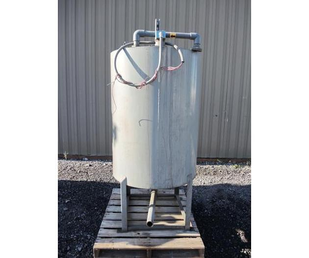 USED 211 GALLON TANK, CARBON STEEL