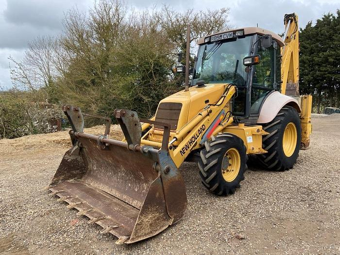 Used New Holland LB85 Backhoe Loader