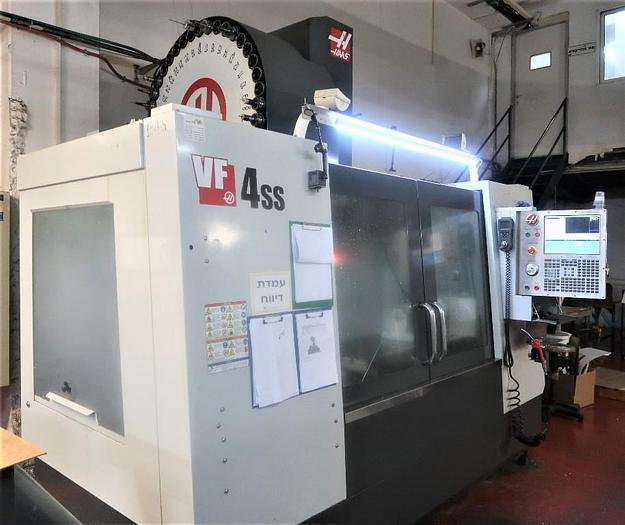 HAAS MODEL VF-4SS 3-AXIS PRECISION CNC VERTICAL MACHINING CENTER 2014
