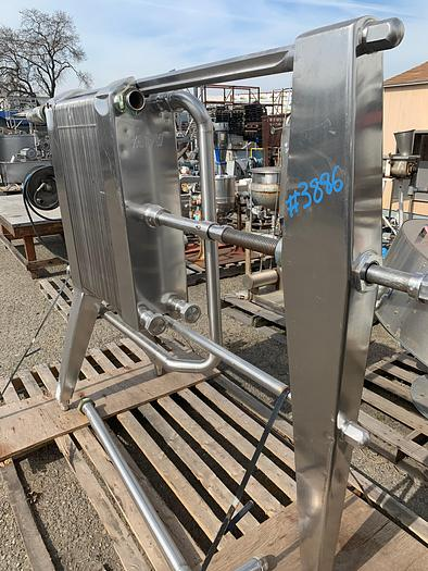 APV Stainless Steel Plate Cooler TYPE HX