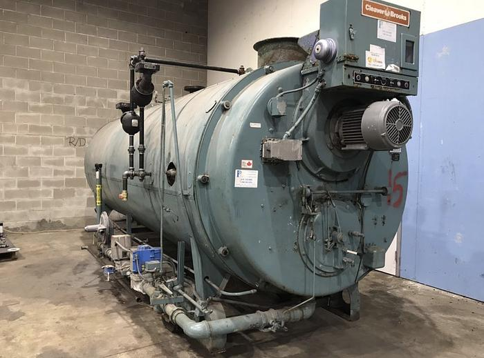 Used 1987 Cleaver Brooks 150 PSI Steam Boiler  CB-700-150