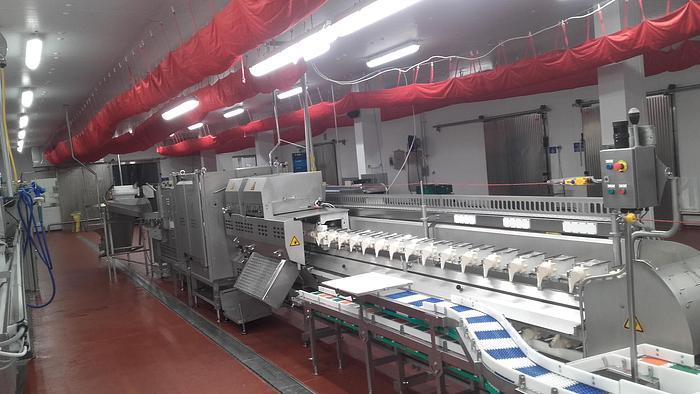 STORK/MAREL AMF-BX semi-automatic breast cap filleting machine