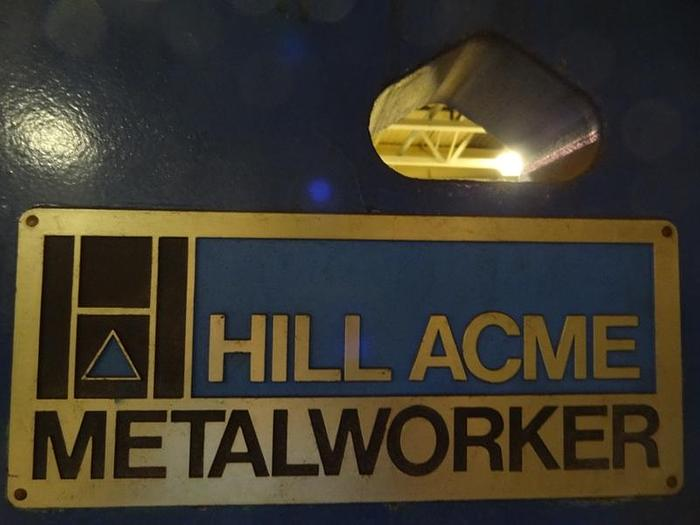 HILL ACME 4A 70 TON UNIVERSAL HYDRAULIC IRONWORKER