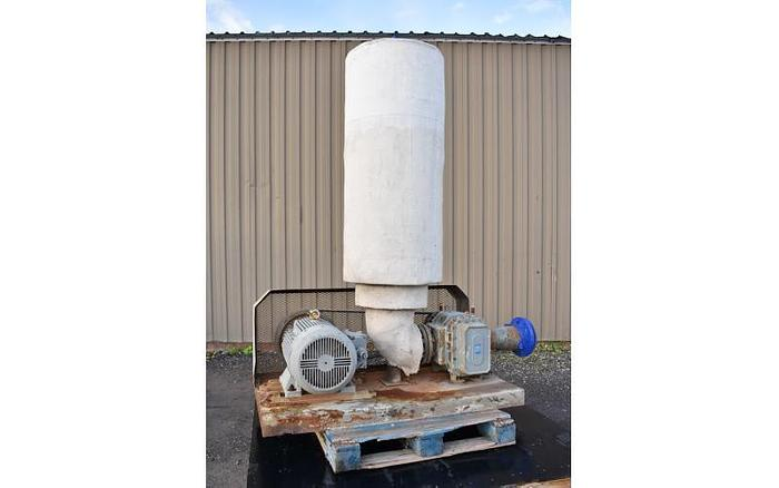 "USED ROTARY LOBE BLOWER, 600 CFM, 5"" INLET & OUTLET"