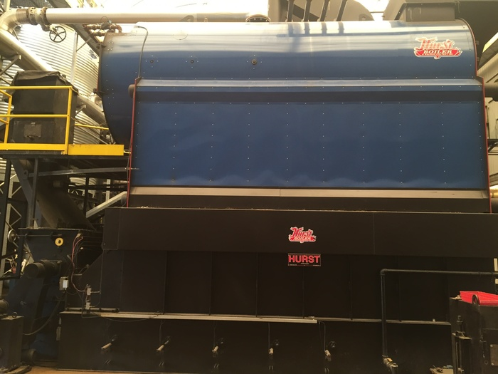 Hurst Boiler Two 500 HP solid fuel Coal Steam
