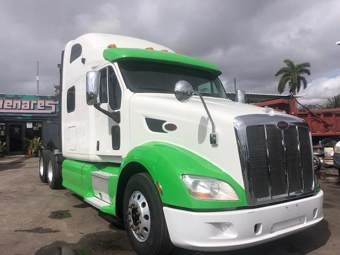 Used 2014 PETERBILT 587 HI RISE SLEEPER TRUCK
