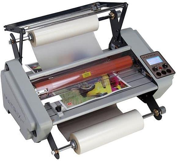Matrix Duo 460 Single & Double Sided Roll-fed Laminator No Stand