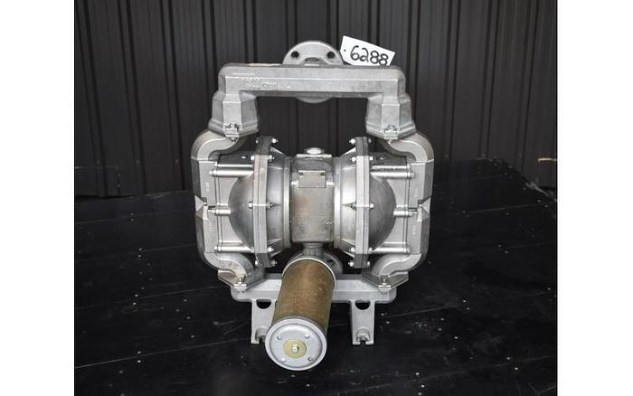 "USED ARO DIAPHRAGM PUMP, 2"" X 2"", CAST STAINLESS STEEL, FLAP VALVE"