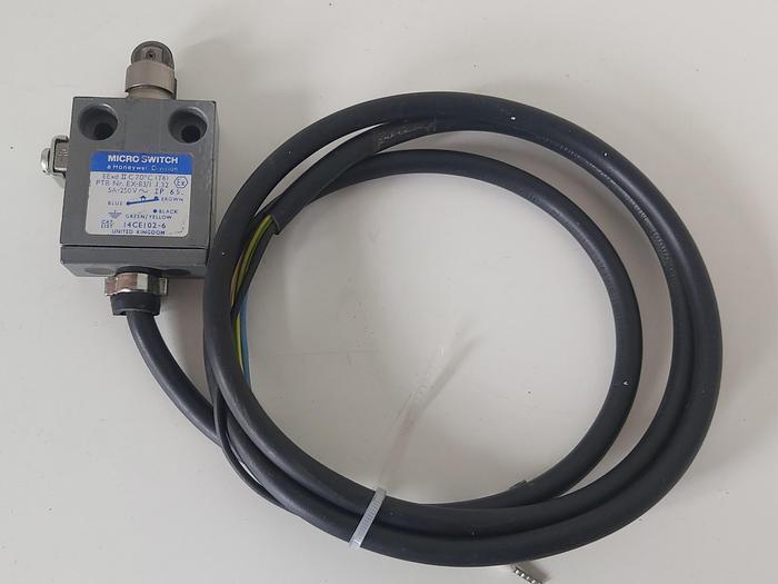 Gebraucht Ex geschützter Endschalter Micro Switch, 14CEI02-6, Honeywell,  gebraucht