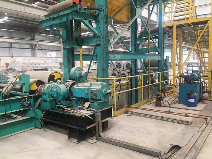 Used 1250 mm Coil Coating Line: CC-177