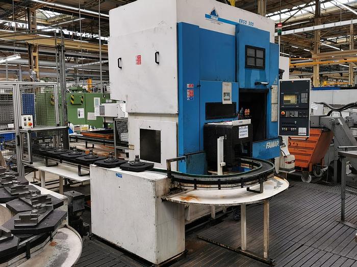 Gebraucht CNC Vertikaldrehmaschine FAMAR ERGO 500