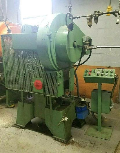Used Perkins 20 Ton Punch Press with Enclosure High Speed Stamping Press