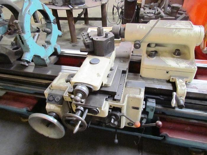 "Schaerer Engine Lathe, 28"" x 192"", 22"" SOCS, 1100 rpm, ID17263"